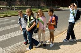 schule, Sicherheit auf dem Schulweg / Versicherung